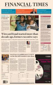 Financial Times Asia - March 24, 2021