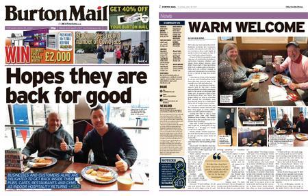 Burton Mail – May 18, 2021