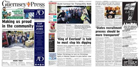 The Guernsey Press – 08 October 2018