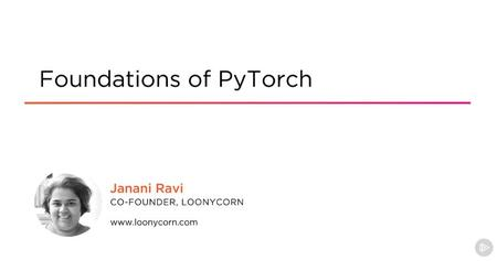 Foundations of PyTorch