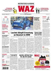 WAZ Westdeutsche Allgemeine Zeitung Oberhausen-Sterkrade - 14. September 2017