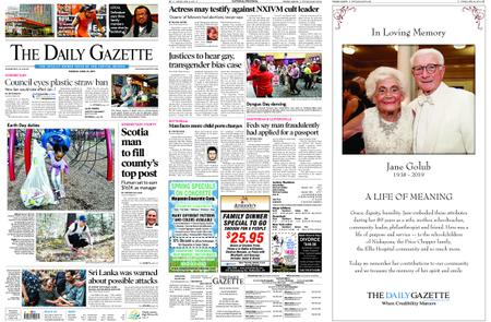 The Daily Gazette – April 23, 2019