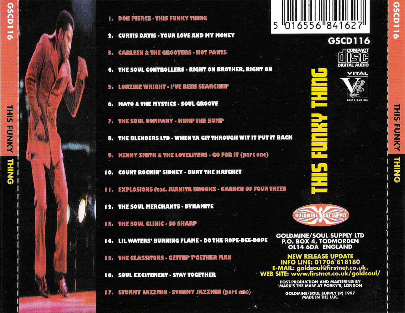 VA - This Funky Thing: An Extremely Rare 70's Collection (1997) {Goldmine/Soul Supply} **[RE-UP]**