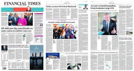 Financial Times Europe – September 15, 2017