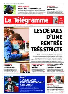 Le Télégramme Ouest Cornouaille – 23 avril 2021