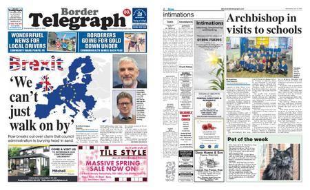 Border Telegraph – April 04, 2018