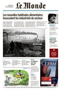 Le Monde du Mardi 14 Août 2018