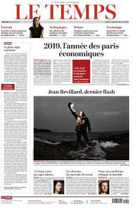 Le Temps - 07 janvier 2019