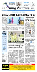 Morning Sentinel – March 19, 2020