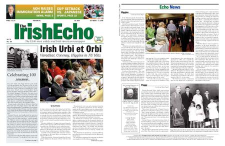 The Irish Echo – October 02, 2019