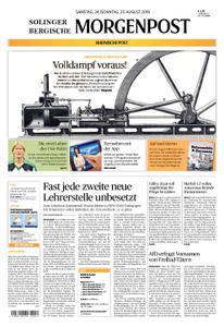 Solinger Morgenpost – 24. August 2019