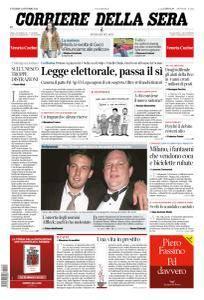 Corriere della Sera - 13 Ottobre 2017