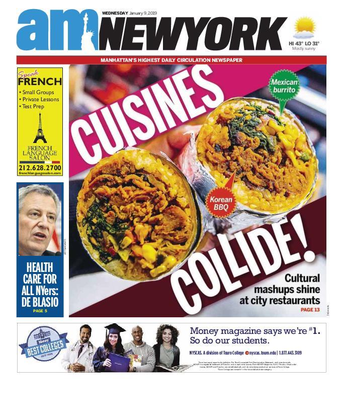 AM New York - January 09, 2019