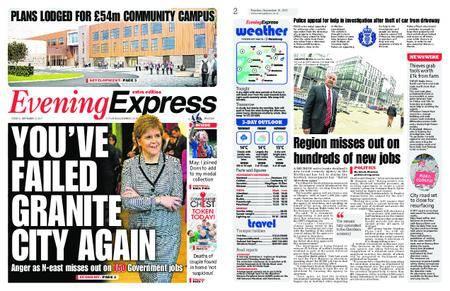 Evening Express – September 19, 2017