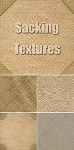 Stock Photo - Sacking Textures 2