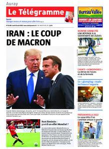 Le Télégramme Auray – 26 août 2019