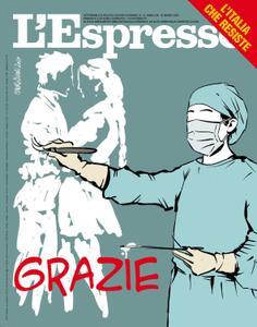 L'Espresso - 22 marzo 2020