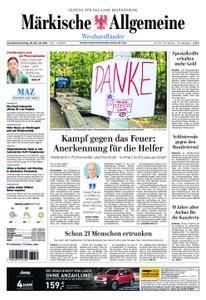 Märkische Allgemeine Westhavelländer - 28. Juli 2018
