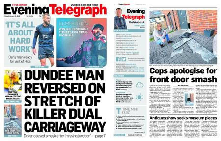 Evening Telegraph First Edition – February 22, 2019