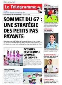 Le Télégramme Guingamp – 27 août 2019