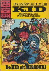 Sheriff Classics - 210 - Rawhide Kid - De Kid Uit Missouri