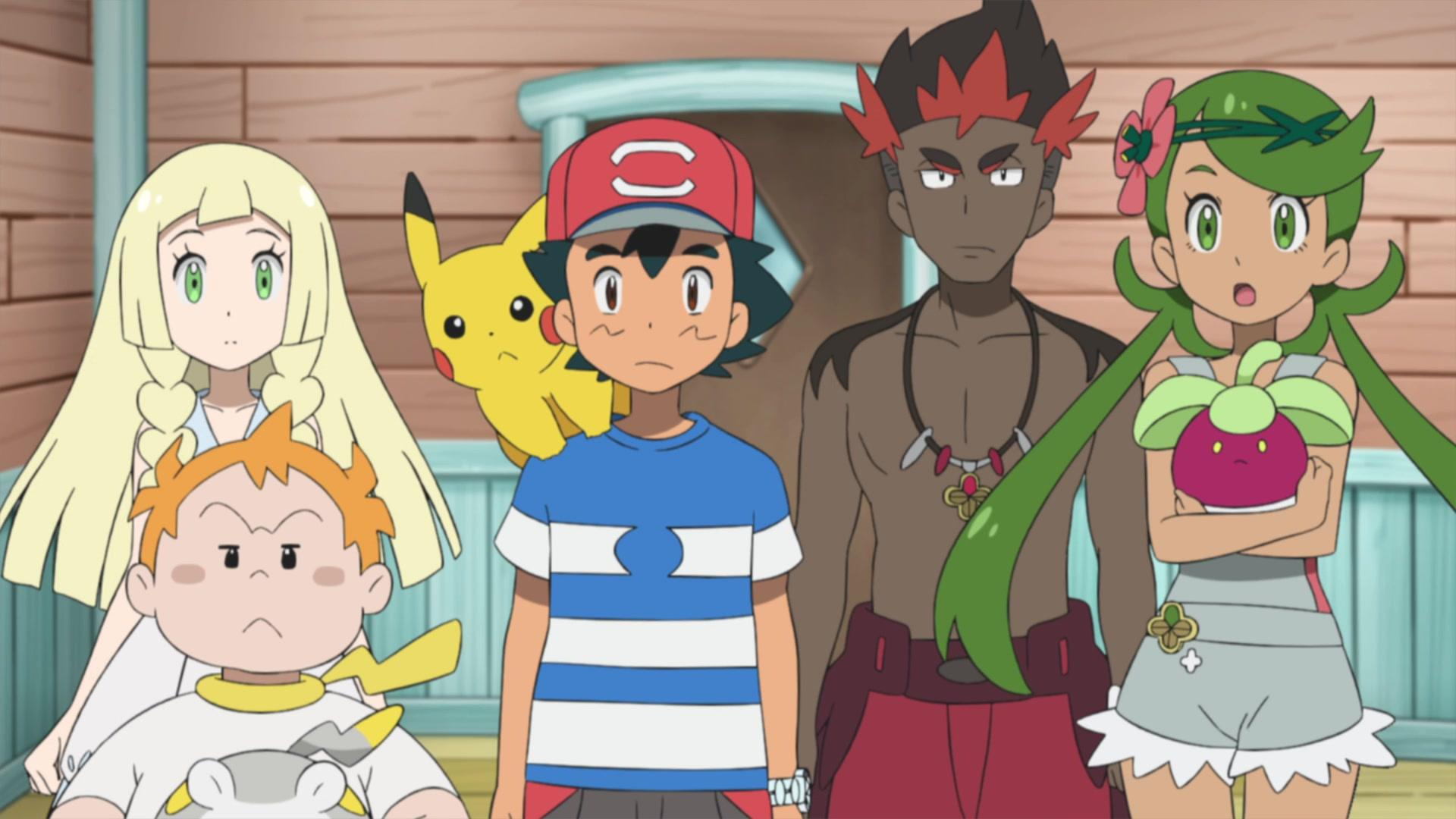 Pokémon the Series: Sun & Moon S01