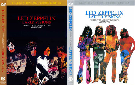 Led Zeppelin: Early Visions (1957-1972) & Latter Visions (1973-1980) Re-up