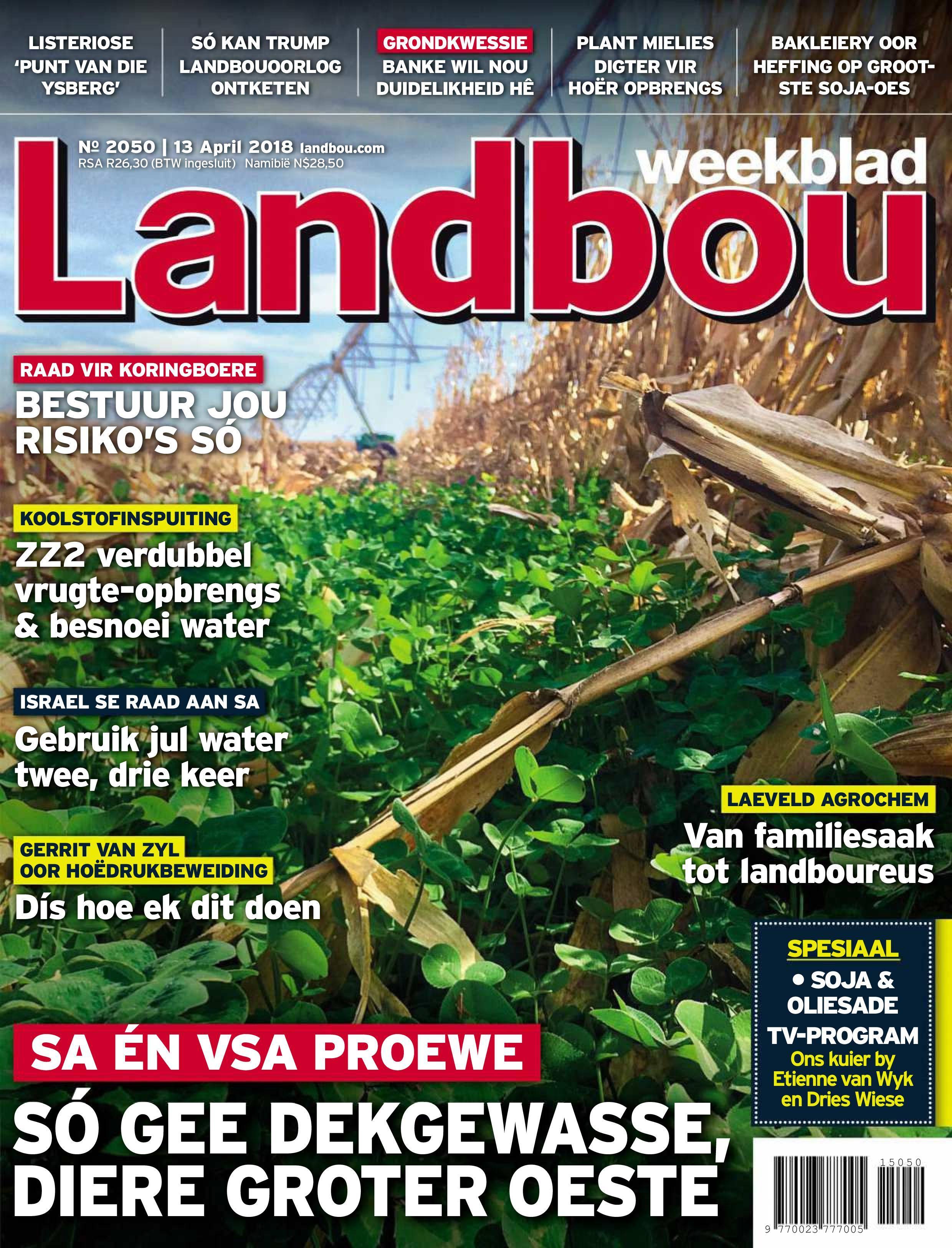 Landbouweekblad - 13 April 2018