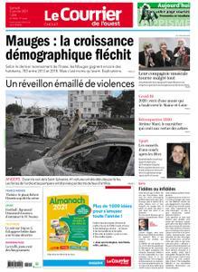 Le Courrier de l'Ouest Cholet – 02 janvier 2021