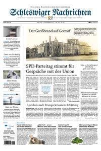 Schleswiger Nachrichten - 08. Dezember 2017