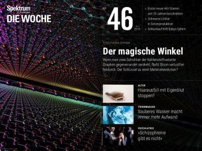 Spektrum Die Woche – 15. November 2019