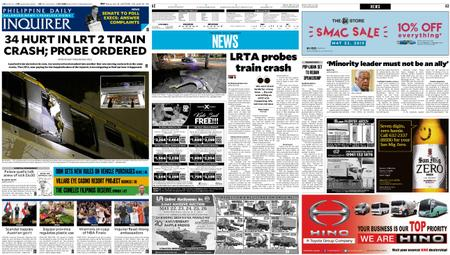 Philippine Daily Inquirer – May 20, 2019