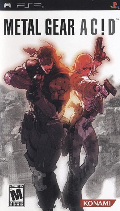 Metal Gear Acid (PSP) [USA]
