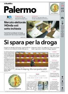la Repubblica Palermo - 19 Marzo 2019