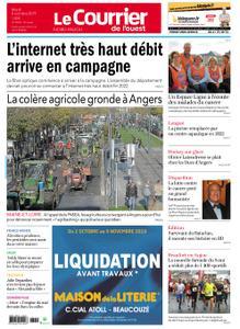 Le Courrier de l'Ouest Nord Anjou – 08 octobre 2019