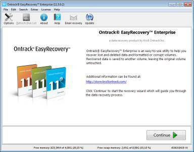 Ontrack EasyRecovery Enterprise 11.5.0.2 Multilingual (x86/x64) Portable