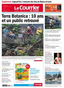 Le Courrier de l'Ouest Angers – 27 septembre 2020
