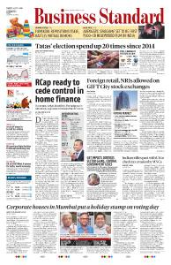 Business Standard - April 30, 2019
