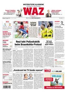 WAZ Westdeutsche Allgemeine Zeitung Oberhausen-Sterkrade - 28. August 2017