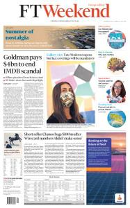 Financial Times Europe - July 25, 2020