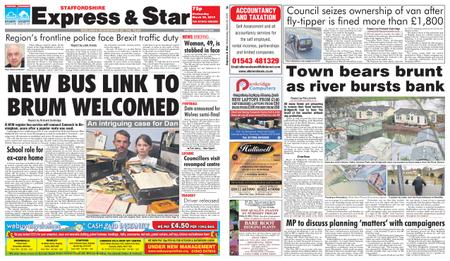 Express and Star Staffordshire Edition – March 20, 2019