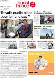 Ouest-France Édition France – 18 novembre 2019