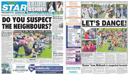 Shropshire Star Shrewsbury Edition – September 24, 2018