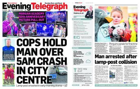Evening Telegraph First Edition – September 24, 2018