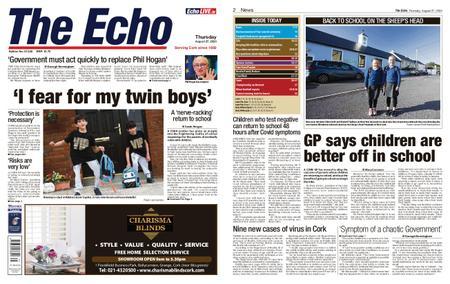 Evening Echo – August 27, 2020