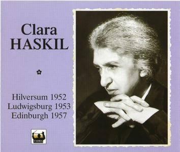 Clara Haskil - Hilversum 1952, Ludwigsburg 1953, Edinburgh 1957 (2001) (3CD Box Set)