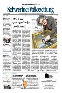 Schweriner Volkszeitung Hagenower Kreisblatt - 07. Februar 2018
