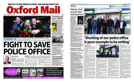 Oxford Mail – December 01, 2018