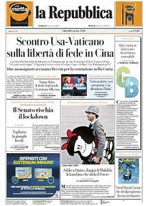 la Repubblica - 1 Ottobre 2020