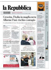 la Repubblica - 9 Novembre 2018